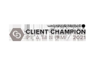 Client Champion Platinum - Mantindale Hubbell